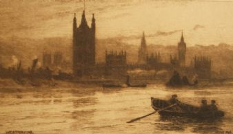 Wilfred Williams Ball; The Thames 1886